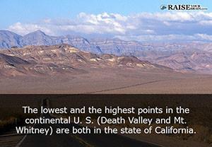 California fun facts 11