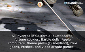 California fun facts 13