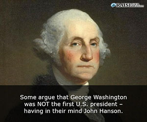 22 interesting facts about george washington raise your for Fun facts about the presidents