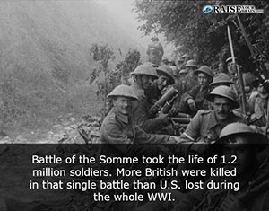26 Interesting facts about WW1 battles - Raise Your Brain