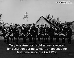 Only One American Soldier Was Executed For Desertion During Wwii It Happened For First Time Since The Civil War Tweet This