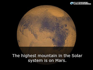 highest mountain in the solar system - photo #7